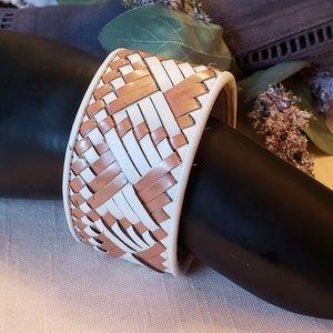 Rebecca Minkoff Southwestern Look Leather Bracelet